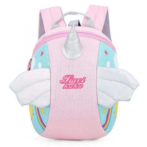 Sac À Dos Enfant Forme Licorne - Rose - Sac Joli Vêtement Pour Bébé