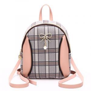 Mini sac à dos femme à carreaux - Sac à main Sac à dos