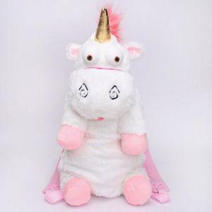 Sac à dos en peluche en forme de licorne - Animal en peluche Sac à dos