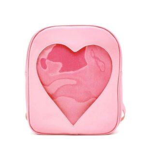 Sac à dos enfant motif cœur transparent - Sac à dos Sac à dos scolaire