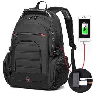 Sac à dos de voyage avec système anti-vol - Sac à dos pour ordinateur portable Sac à dos antivol