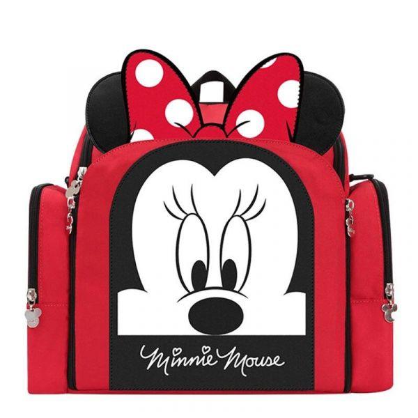 Sac À Couches Mickey Pour Bébé - Rouge - Minnie Mouse Mickey La Souris