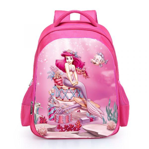 Sac À Dos La Petite Sirène Pour Fille - Rose - Ariel Disney