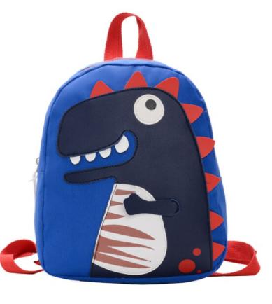 Sac À Dos Enfant Motif Dinosaure Kawaii - Bleu - Sac À Dos Sac À Dos Scolaire
