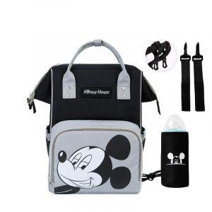 Sac à dos enfant Disney Mickey - Gris - Couche Minnie Mouse