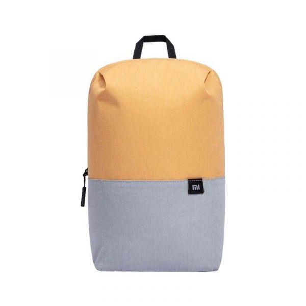 Sac À Dos Minimaliste Deux Tons - Orange - Sac Mini Sac À Dos Xiaomi Mi