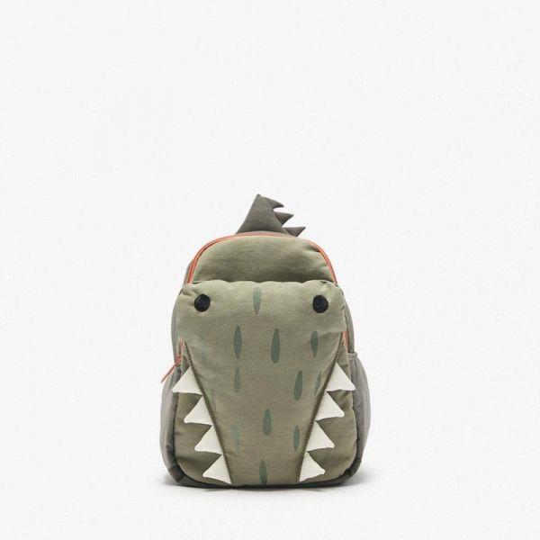Sac À Dos Crocodile Vert En 3D - Sac À Dos Scolaire Sac À Dos