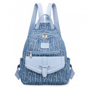 Sac à dos cartable mode décontracté moderne - Bleu - Sac à dos scolaire Sac à dos