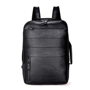 Sac à dos décontracté pour ordinateur portable - Noir - Sac à dos Sac à dos pour ordinateur portable