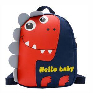 Petit sac à dos tyrannosaure pour enfant - Bleu - Sac à dos Sac à dos pour enfants