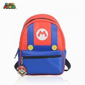 Sac à dos Super Mario bleu et rouge - Sac à dos scolaire Sac à dos pour enfants