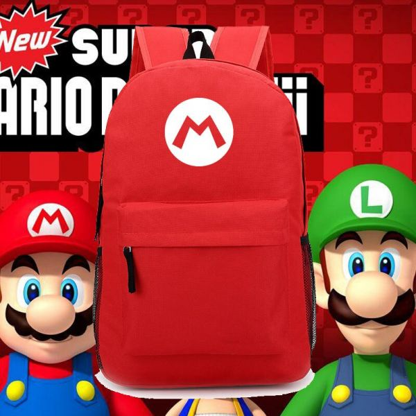 Sac À Dos Super Mario Couleur Unie