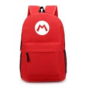Sac à dos Super Mario couleur unie - Rouge - T-shirt Sac à dos scolaire
