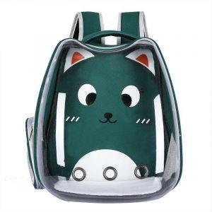 Sac à dos transparent motif dessin animé pour chat - Chat Chien