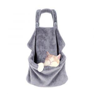Sac à bandoulière transport chat pour l'hiver - Chat Chien