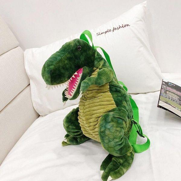 Sac À Dos Original Dinosaure 3D - Sac À Dos Animal En Peluche