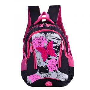 Sac à dos fille coloré motif papillon - Sac à dos Sac à dos scolaire