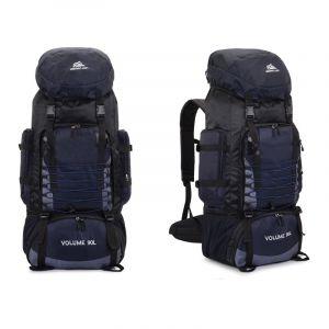 Très grand sac à dos de randonnée - Bleu foncé - Sac à dos de randonnée Sac à dos
