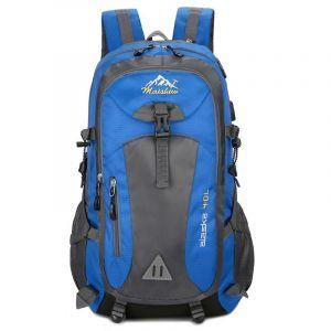 Sac à dos de randonnée prise téléphone - Bleu - Sac à dos Sac à dos pour ordinateur portable