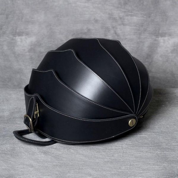 Sac À Dos En Cuir Style Scarabées - Noir - Sac À Dos Cuir
