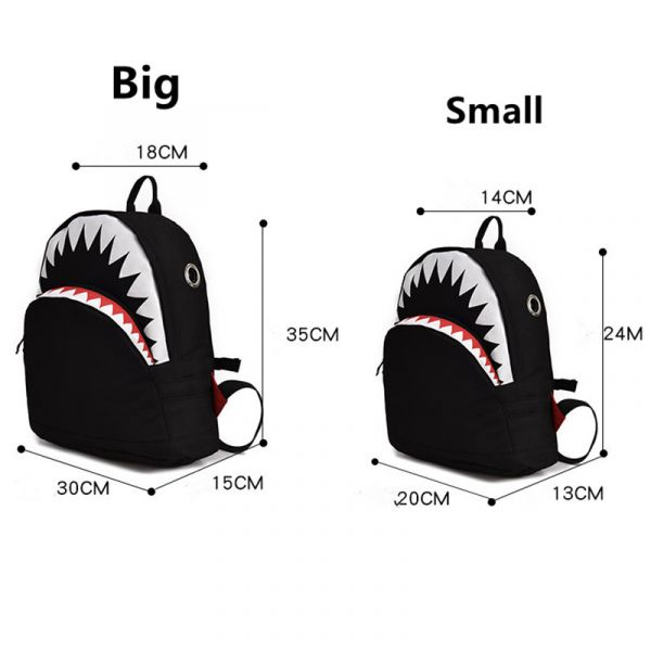 Petit Sac À Dos Requin 3D