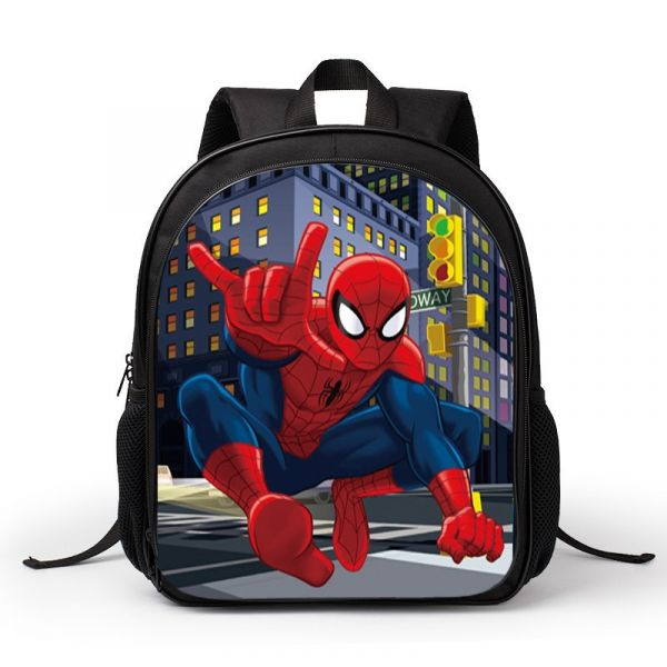 Sac À Dos 3D Spider-Man - Sac À Dos Scolaire Sac À Dos