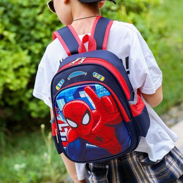 Sac À Dos D'École Spider-Man Rigolo - Sac À Dos Sac À Dos Scolaire