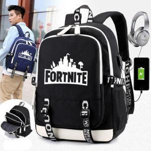 Sac à dos Fortnite avec chargeur USB - Jin BTS