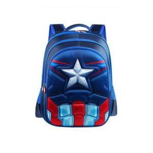 Sac à dos Captain America pour enfant - Sac à dos scolaire Sac à dos