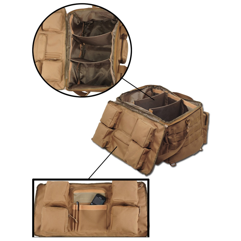 Sac À Dos Militaire Grande Capacité Camouflage 50L