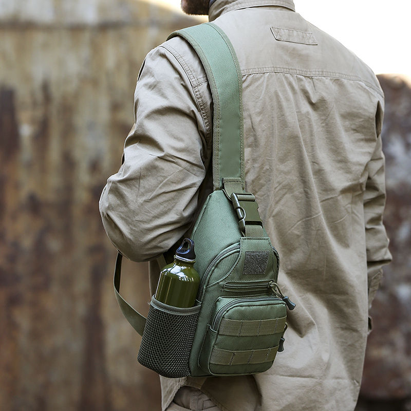 Sac À Dos Militaire À Une Épaule Avec Emplacement Pour Gourde
