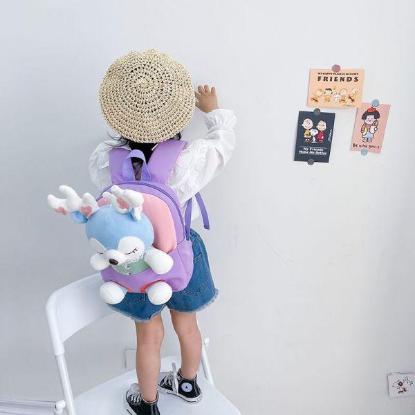 Sacs À Dos D'École En Peluche Pour Enfants