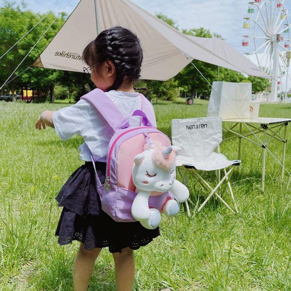 Sac À Dos Licorne En Peluche Pour Enfants